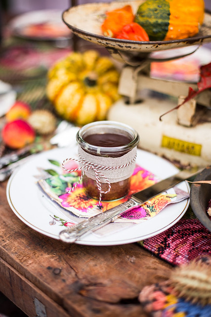 Afternoon Tea Fall Setting