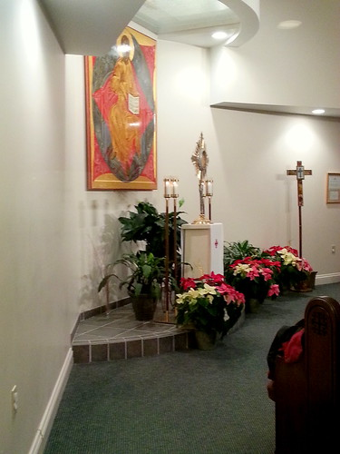 Adoration at Christ the King