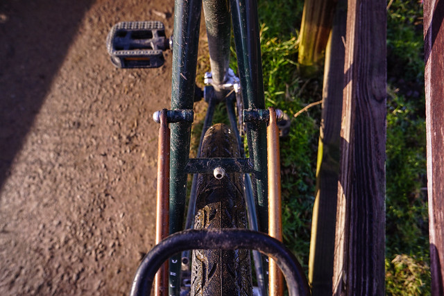 Surly Disc Trucker: Rear Rack Mounts