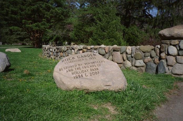 Rock garden rock