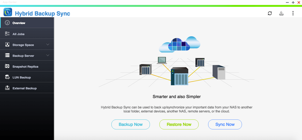 QNAP Hybrid Backup Sync รวมทุกการแบ็กอัพในแอปเดียว