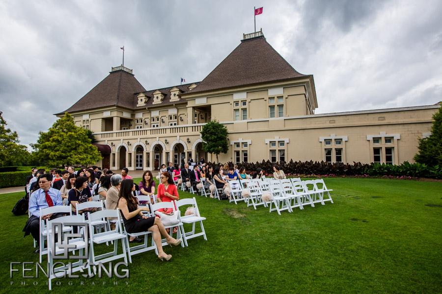 Chateau Elan outdoor wedding