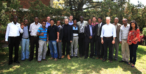 Participants of the Dspace technical training