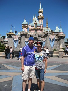 with Sleeping Beauty's Castle