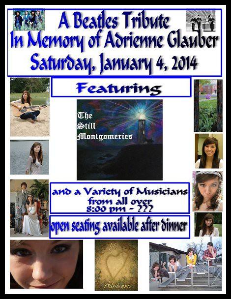 Adrienne Glauber Memorial 1-4-14
