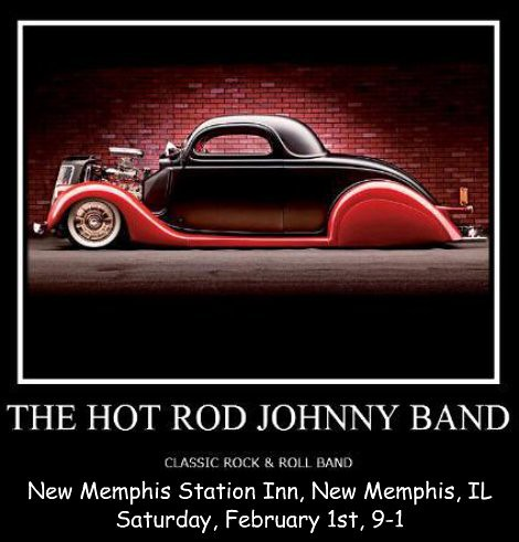 Hot Rod Johnny Band 2-1-14