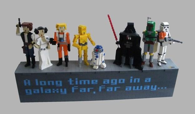 A long time ago in a galaxy far, far away...