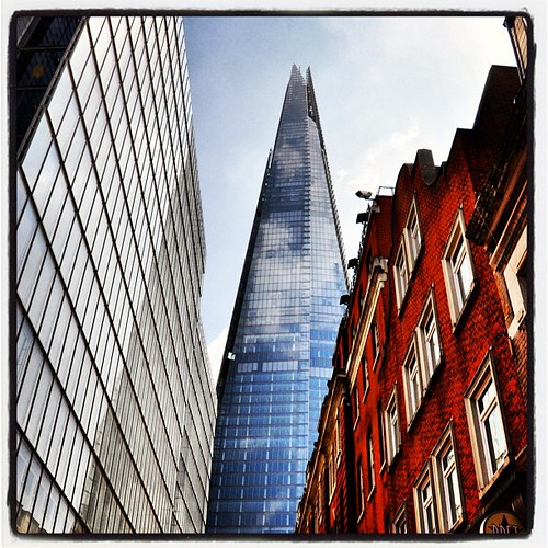 The Shard, London summer 2013, recommended by larsling