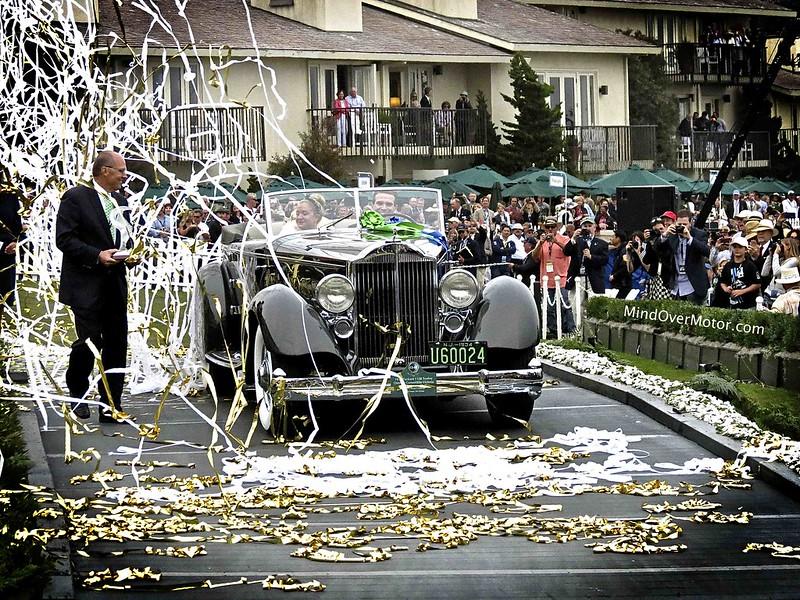 Pebble Beach Best in Show Winner, a 1934 Packard 1108 Twelve Dietrich Convertible Victoria