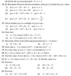 Class 9 Important Questions for Maths - Polynomials   AglaSem Schools [ 2758 x 540 Pixel ]