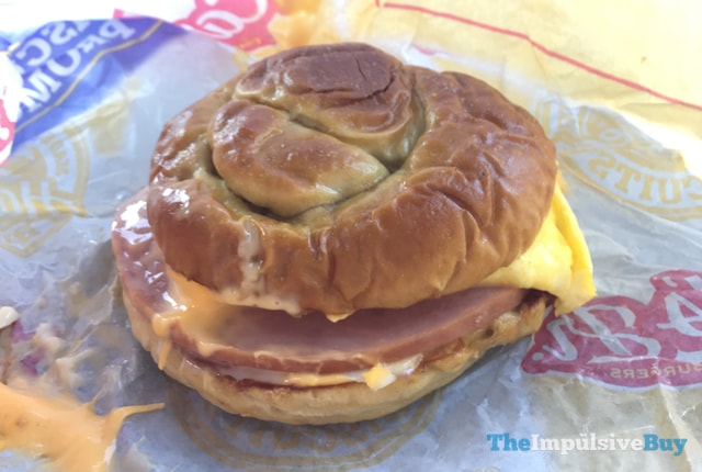 Carl's Jr. Pretzel Breakfast Sandwich