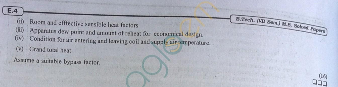 RTU: Question Papers 2013 - 7 Semester - ME - 7E4061