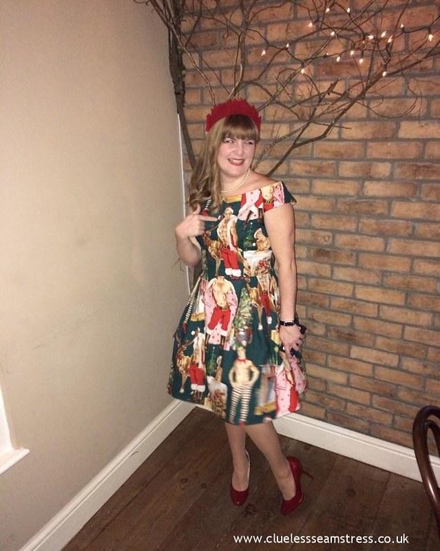 Christmas hunks dress