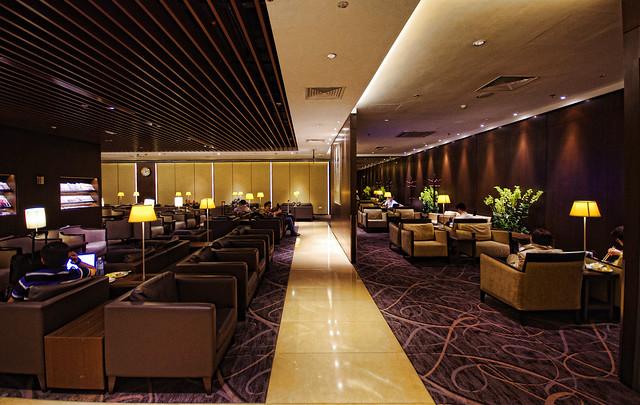 silverkris lounge in changi airport terminal 2