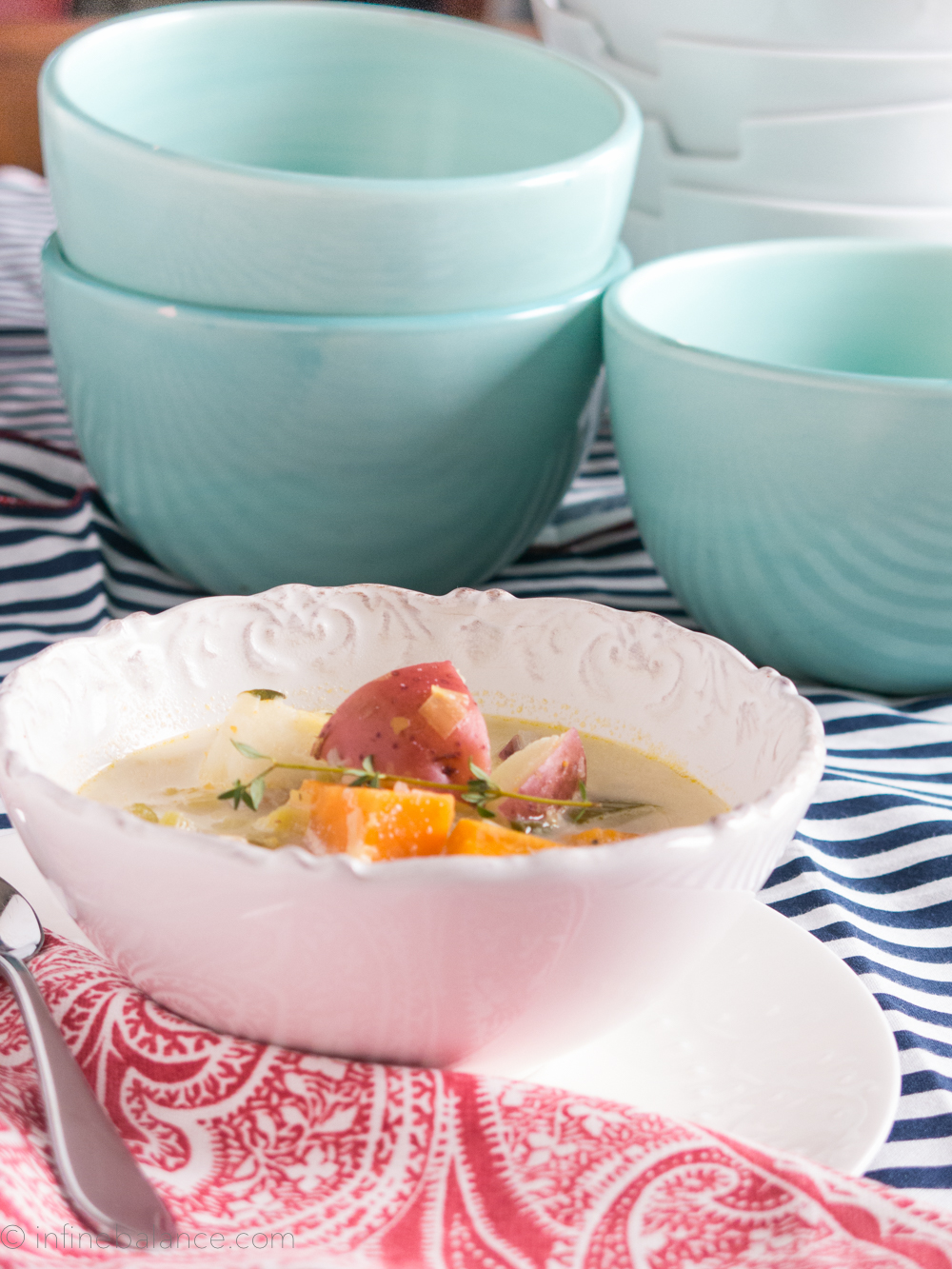 2014 Winter Vegetable Soup | infinebalance.com  #recipe