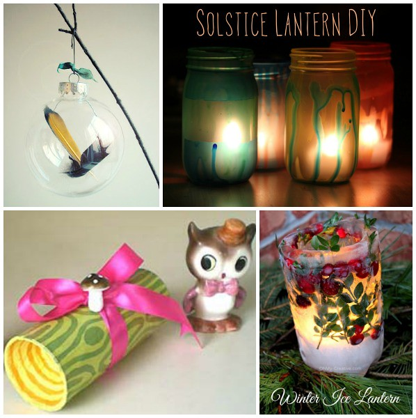 Yule and Winter Solstice Crafts