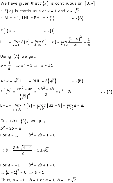 RD Sharma Class 12 Solutions Chapter 9 Continuity Ex 9.2 Q5