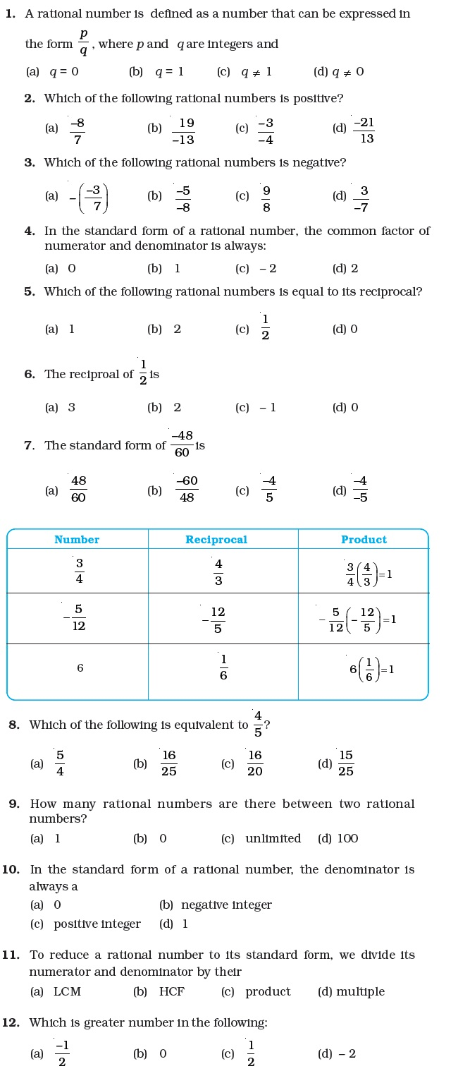 hight resolution of 25 Rational Numbers Worksheet Grade 7 - Worksheet Project List