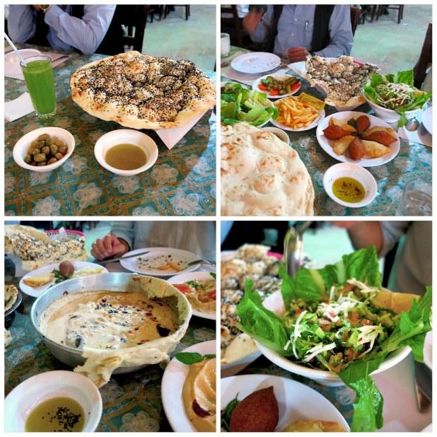 Gastronomía Jordania