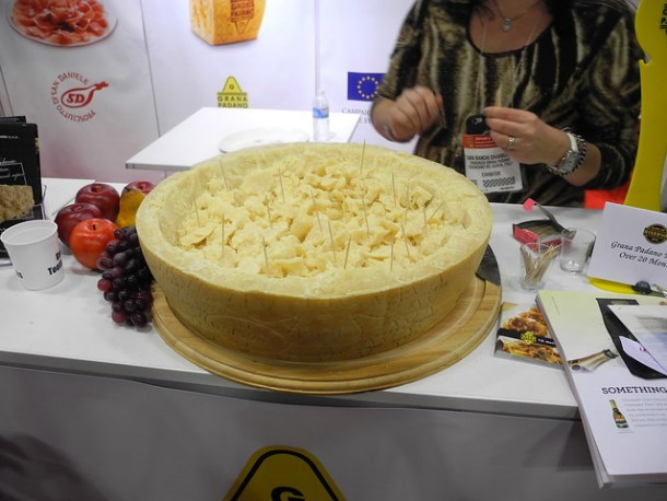Winter Fancy Food Show Parmesan