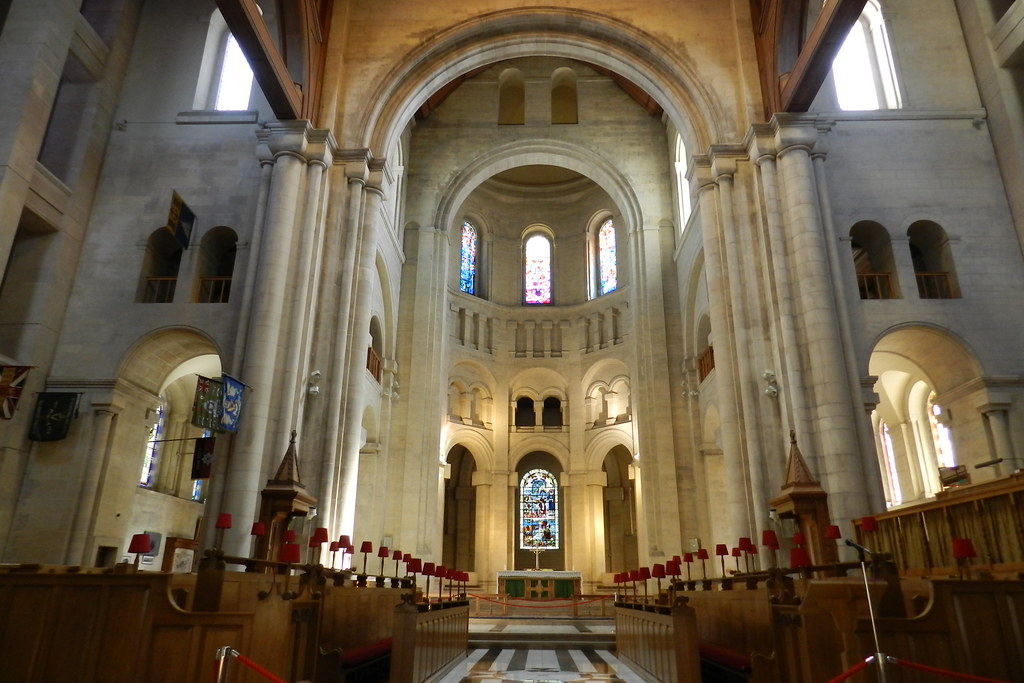 Catedral Santa Ana interior Belfast Ulster Irlanda del Norte 02