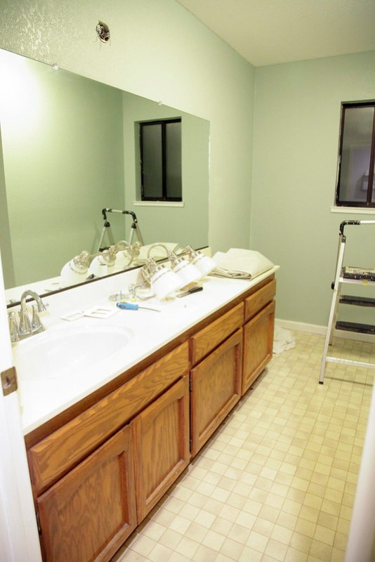 Painted Guest Bathroom