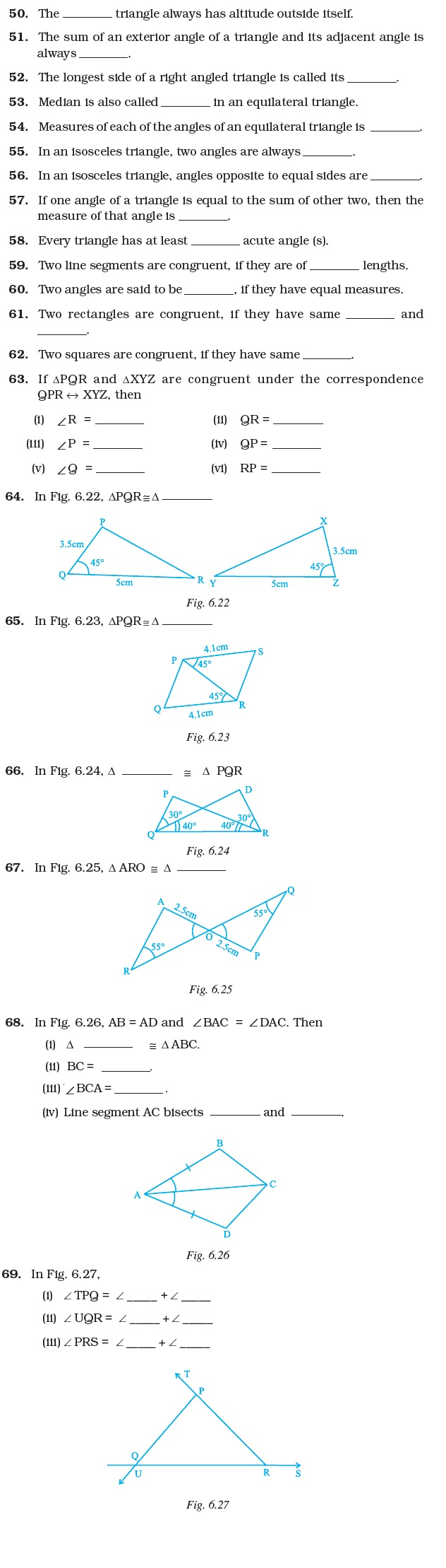 hight resolution of Class 7 Important Questions for Maths – Triangles   AglaSem Schools