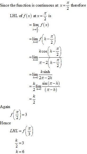 RD Sharma Class 12 Solutions Chapter 9 Continuity Ex 9.2 Q4-ix