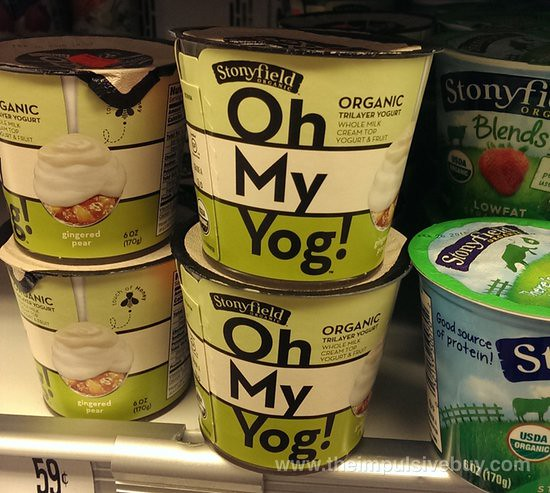 Stonyfield Organic Oh My Yog!