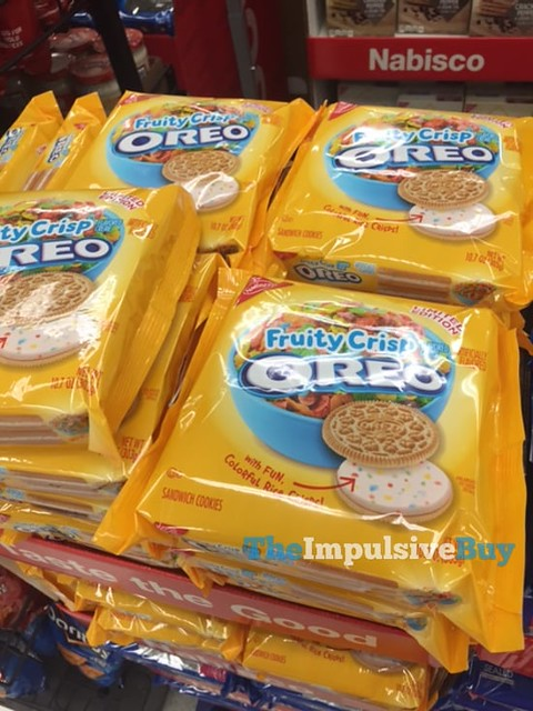 Nabisco Limited Edition Fruity Crisp Oreo Cookies