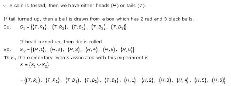 Free RD-Sharma-class-11 Solutions-Chapter-33-Probability-Ex-33.1-Q-11