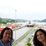 05 Viajefilos en Panama, Esclusa Miraflores 01