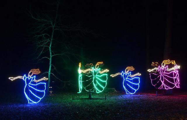 christmas lights callaway gardens map