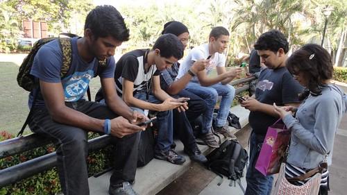 CANTV WIFI para todos Estudiantes manifestaron su alegría por la instalación del servicio