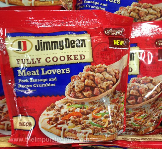 Jimmy Dean Fully Cooked Meat Lovers Pork Sausage and Bacon Crumbles