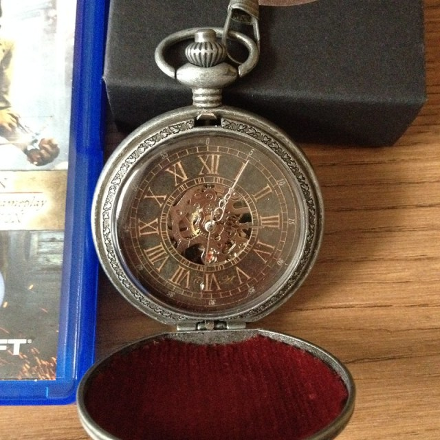 assassin creed pocket watch