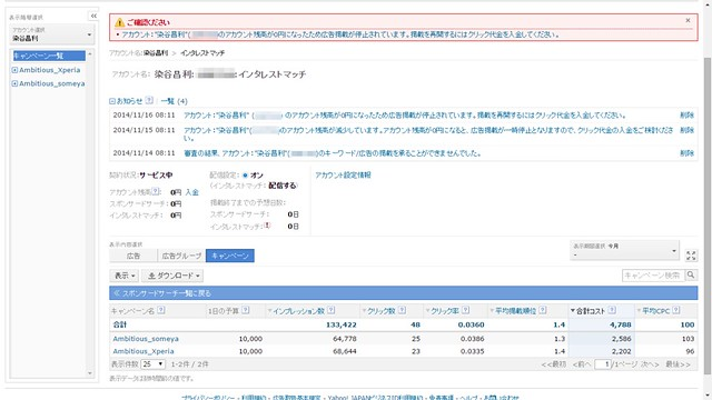 Yahoo!プロモーション広告の効果