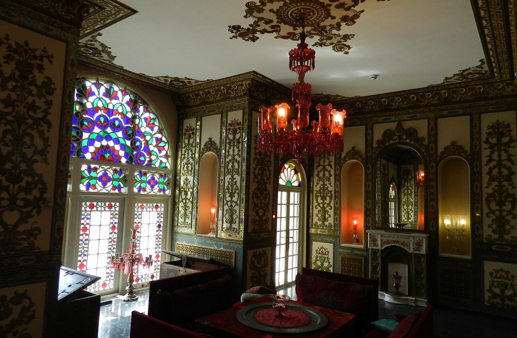 Palacio Sahebqaraniyeh Complejo Palacio Niavaran Teherán Iran 12