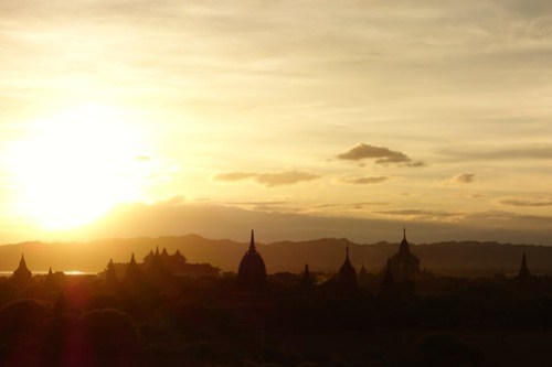 Ready for sunset Bagan