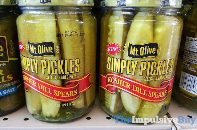 Mt. Olive Simply Pickles Kosher Dill Spears