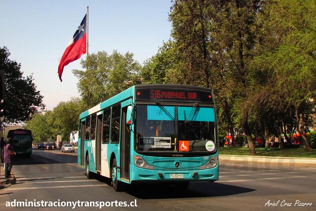 Transantiago - 516 | Metbus | Caio Mondego H - Mercedes Benz (FLXD40)