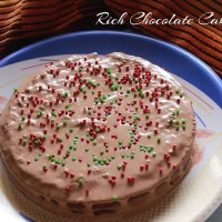 Rich Chocolate Cake1