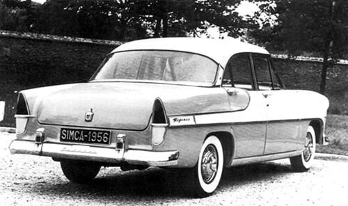 Simca Vedette Regence 1956