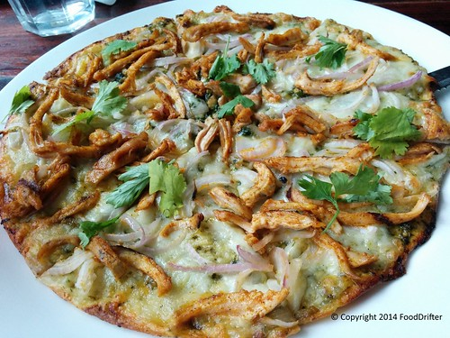 Chicken Carnitas Pizza