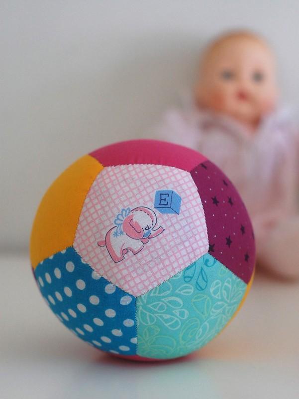 Patchwork Ball Free Pattern