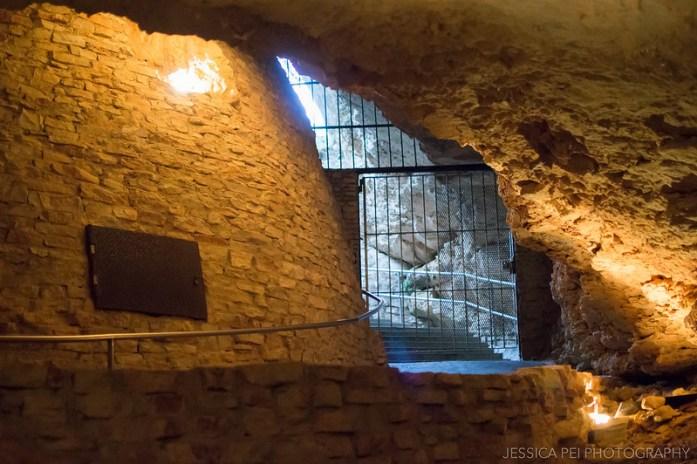 Natural Bridge Caverns Entrance