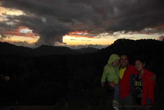 Sunset at Lake Danum, Sagada