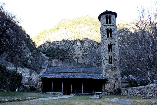 Iglesia de Santa Coloma de Andorra