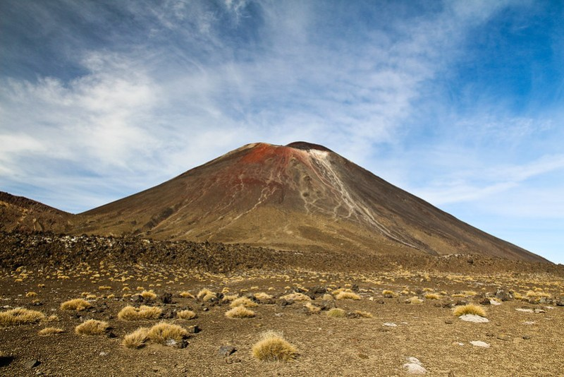 The Tongariro Alpine Crossing, in New Zealand's central North Island, is a spectacular day hike that takes in volcanic scenery over 19.4 km. A must do!