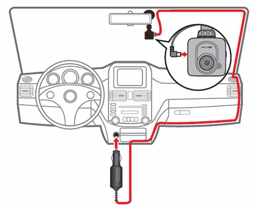 Mio Mivue588 588 Car Camcorder☆Touchscreen☆Sony Exmor Lens